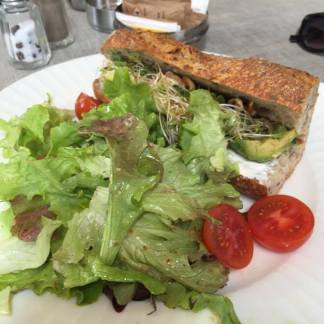 Great Avocado sandwich